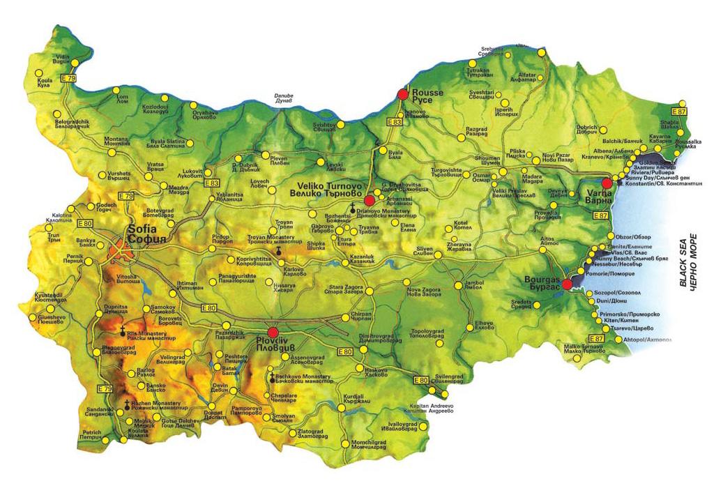 Karta 2019 Karta Na Blgariya Svishov